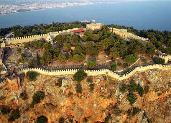 Alanya Castle hosts thousands of vısıtors